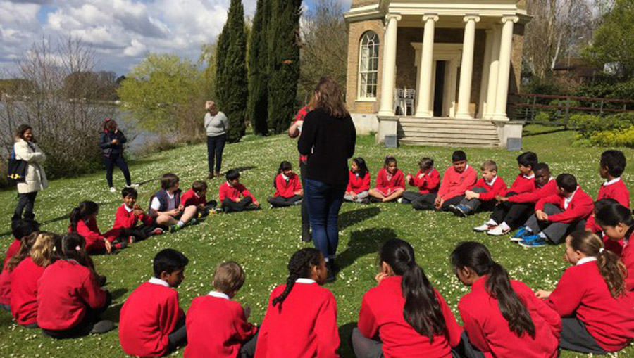 Education at Garrick's Temple